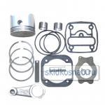 Фото ремкомплекта компрессора КАМАЗ Евро 1 цилиндровый (полный+шатун,номинал)